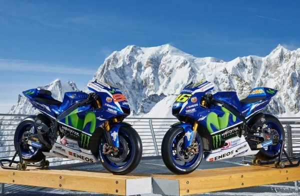 Yamaha M1 Part to Skiing 2016