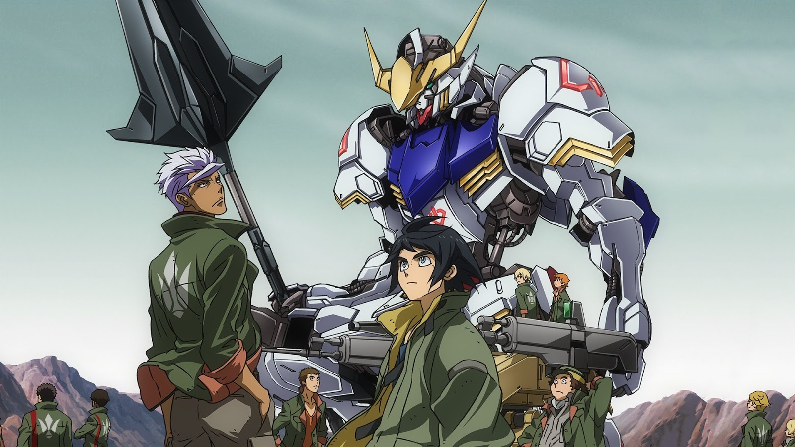 Mobile Suit Gundam: Iron-Blooded Orphans Subtitle Indonesia Batch