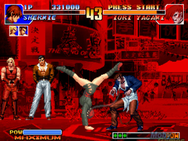 king of fighter 2002 pc gratuit sur clubic