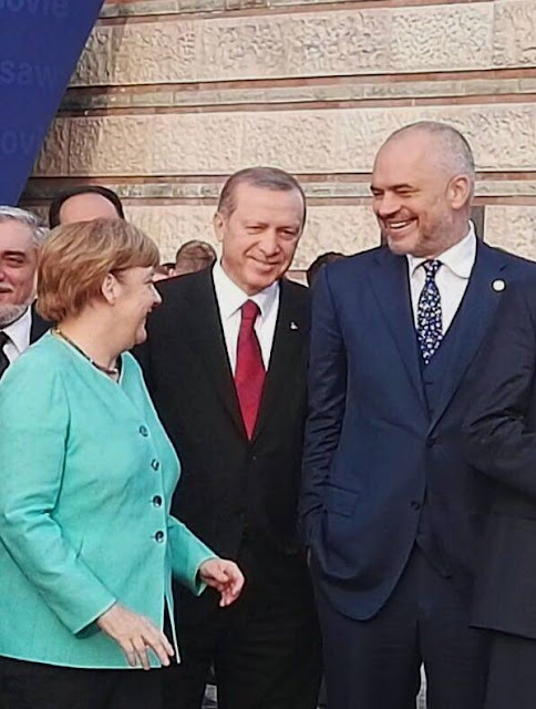 Erdogan and Merkel congratulates Rama for the victory