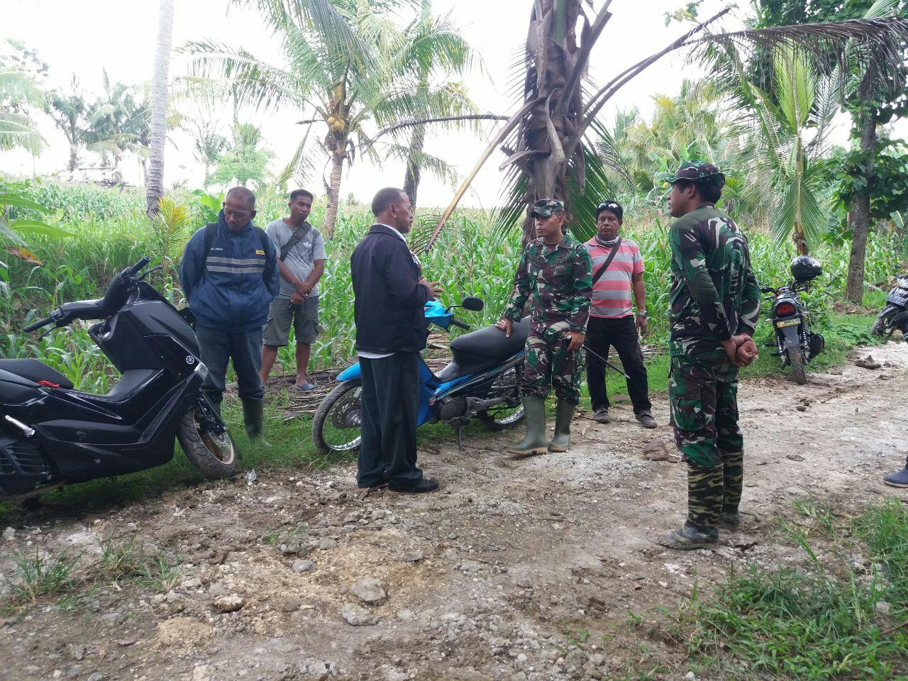 Dinas PUPR Kabupaten Bone Menyatakan Siap Memaksimalkan Bantuan pada TMMD ke-104