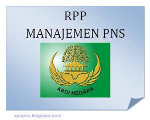 RPP Manajemen PNS