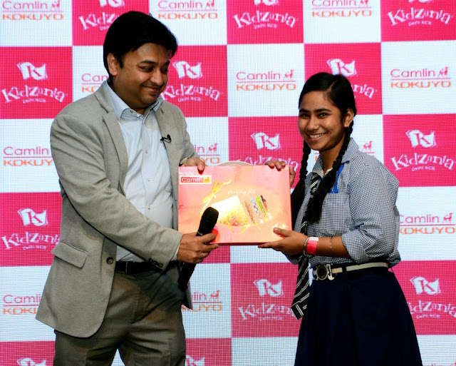 KidZania Delhi NCR, a Global Indoor Theme park, joined hands with Kokuyo Camlin `Unwrapping Happiness' for NGO Kids