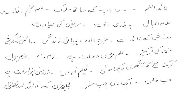 2nd Year Important Essays of Urdu 2020
