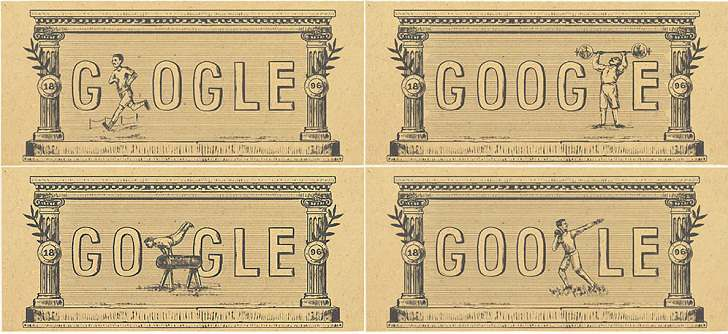 Sejarah Olimpiade Musim Panas 1896 Hari ini Jadi Tema Logo Google Doodle