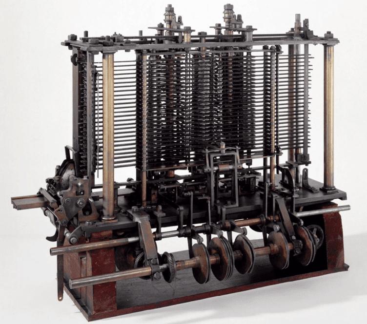 Máquina Analítica de Charles Babbage, 1833