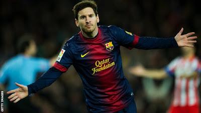 Leo la pulga Messi