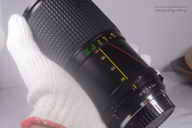 Tokina AT-X 28-135mm f/4-4.6 Macro (Pentax K Mount)