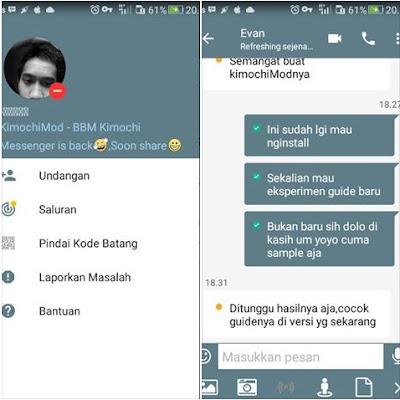 BBM Kimochi Messenger v3.3.1.24 APK
