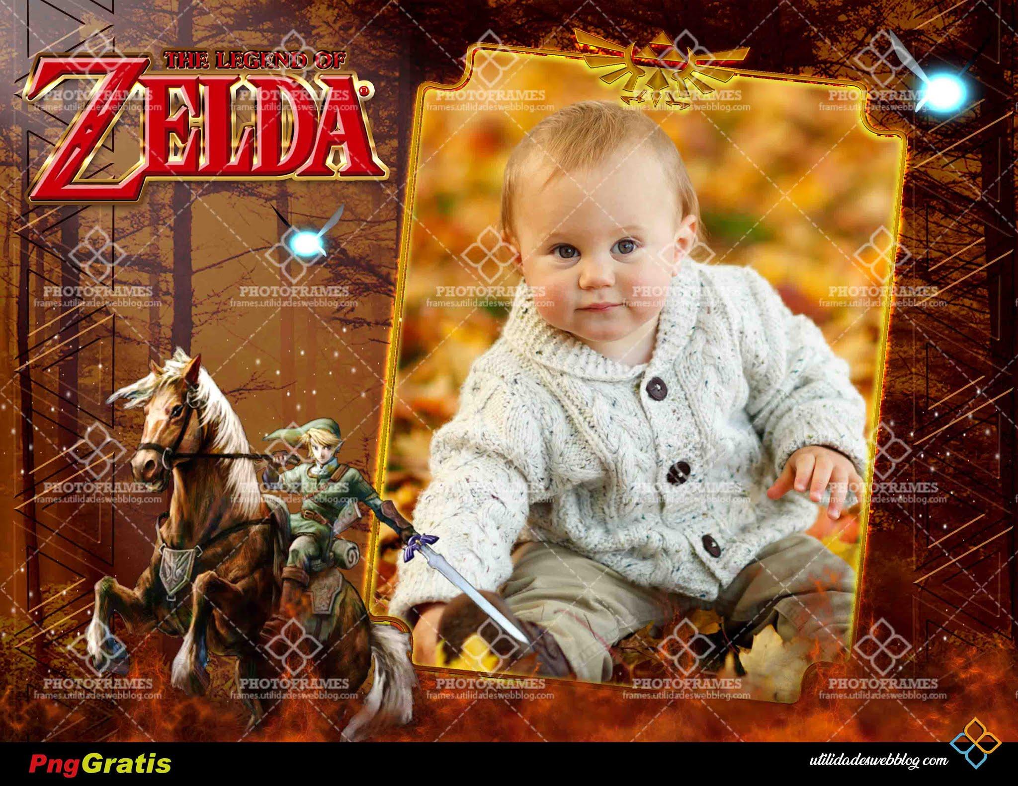 Marco para fotos de el videojuego The Legend of Zelda