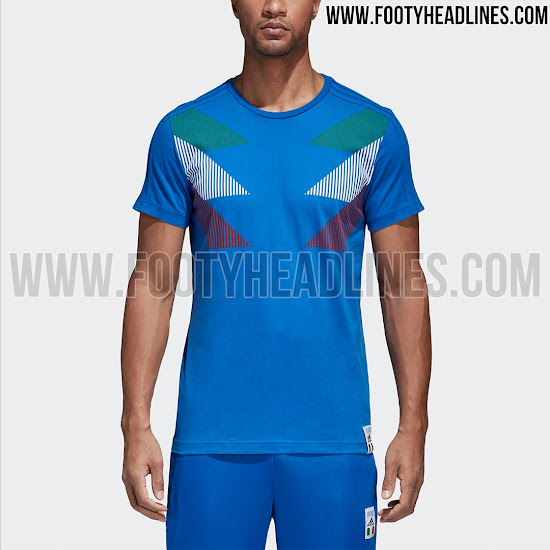online store 199f1 2837d Adidas Italy 2018 Shirt Leaked - Footy Headlines
