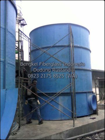 tangki air fiberglass 50m3