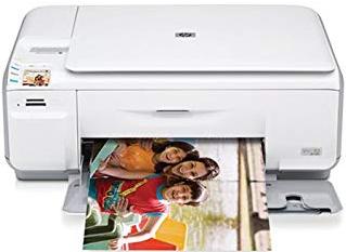 HP Photosmart C4380 Télécharger Pilote Gratuit Pour Windows et Mac
