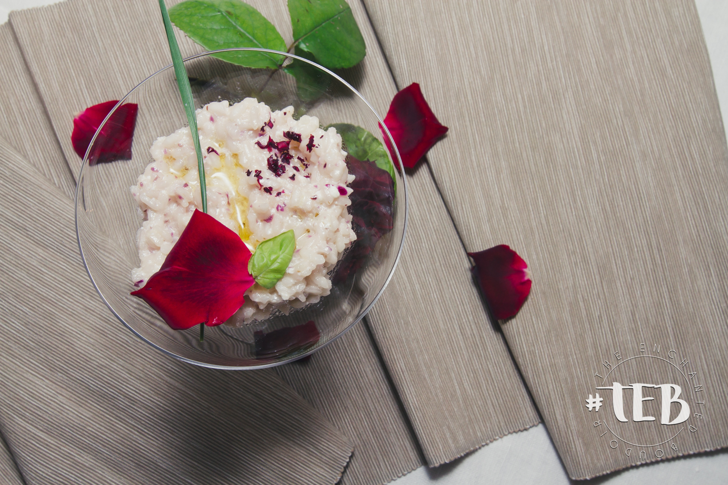 COOKING WITH LE PRINCE: ITALIAN RISOTTO WITH ROSES