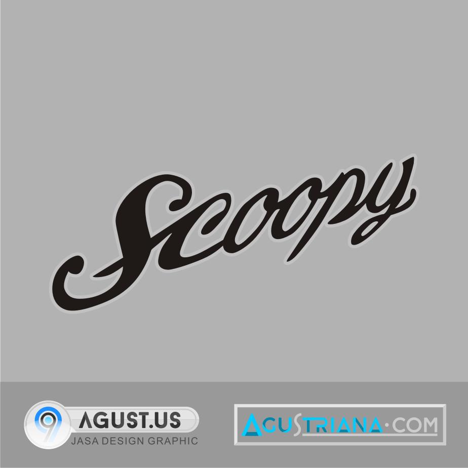 Log Vector Scoopy (CDR) | Koleksi Vektor CorelDraw