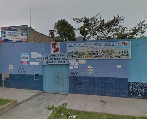 Colegio COMERCIO 62 ALMIRANTE MIGUEL GRAU - Comas