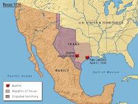 Conflicto con Texas (1836)