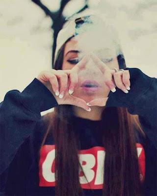 foto tumblr con humo blanco