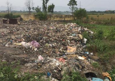 Ô nhiễm nghiêm trọng vì giác thải dân sinh