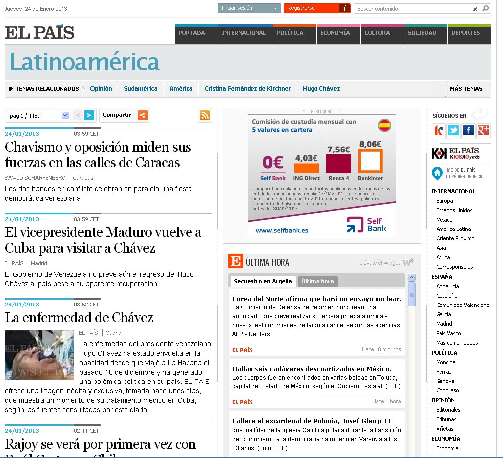 Venezuela News And Views: El Pais Of Spain Conned By