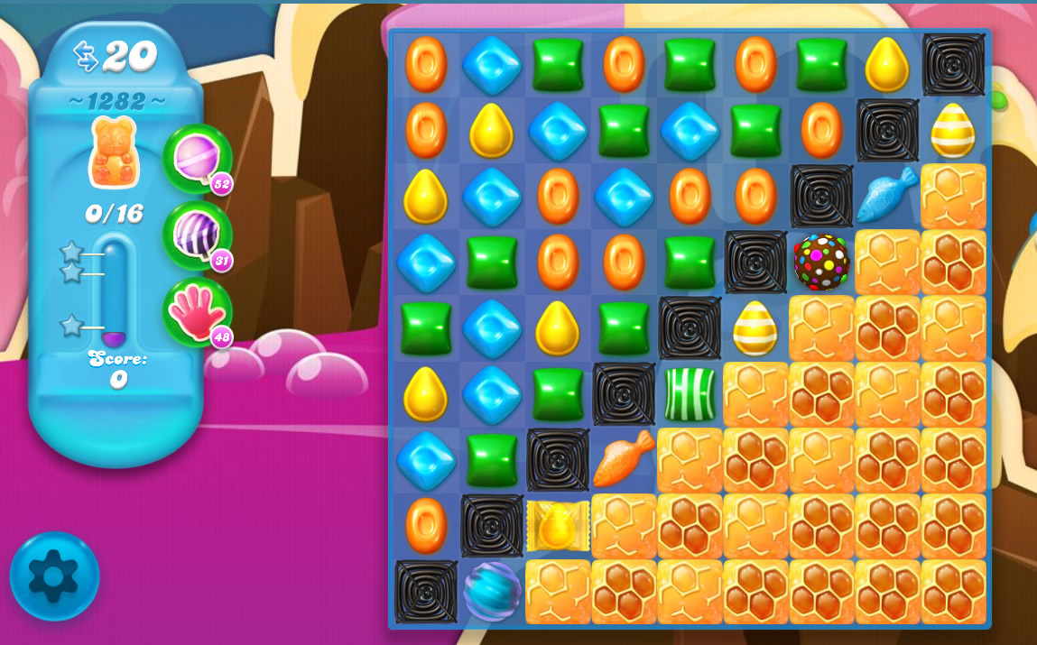 Candy Crush Soda Saga level 1282
