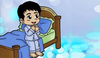 Doa Sebelum Tidur Dan Bangun tidur