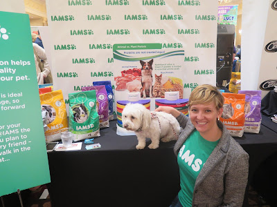 Meeting conference sponsor Iams at BlogPaws2015 blogger's conference