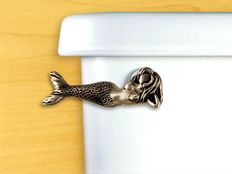 Mermaid Toilet Flush Handle