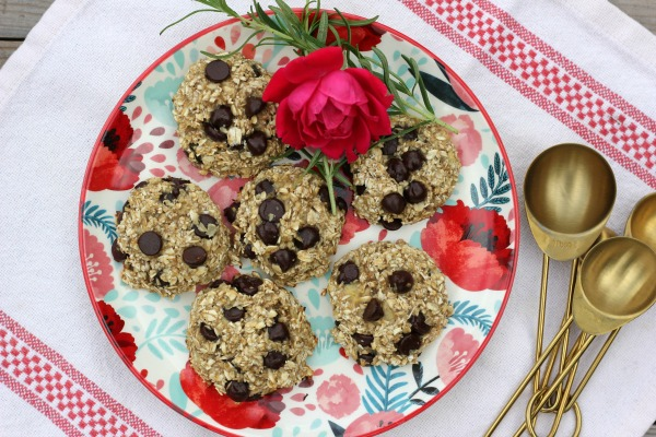 Healthy 3 Ingredient Cookies