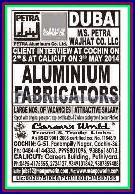 Dubai Aluminium company jobs - Gulf Jobs for Malayalees