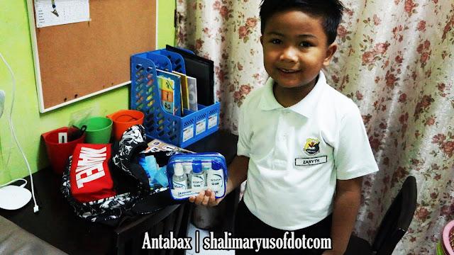 Kit Pembasmi Kuman Antabax Teman Kebersihan Anak Ke Sekolah