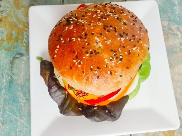 przepis na bułki do burgerów