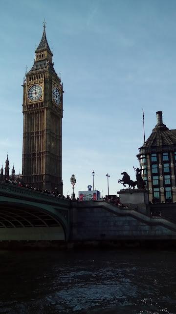 Dzień pierwszy - Tamizą do Greenwich