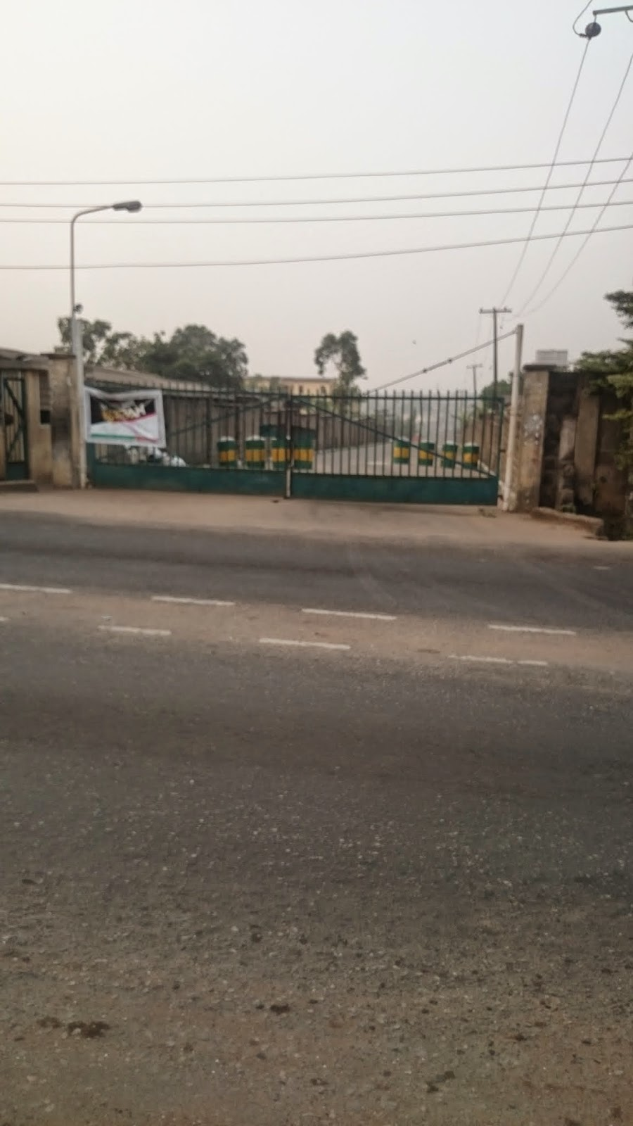 Gate of NYSC Orientation Camp, Iyana Ipaja, Lagos