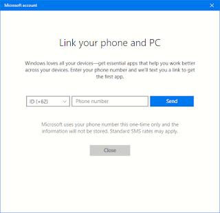 menghubungkan smartphone dan PC di windows 10