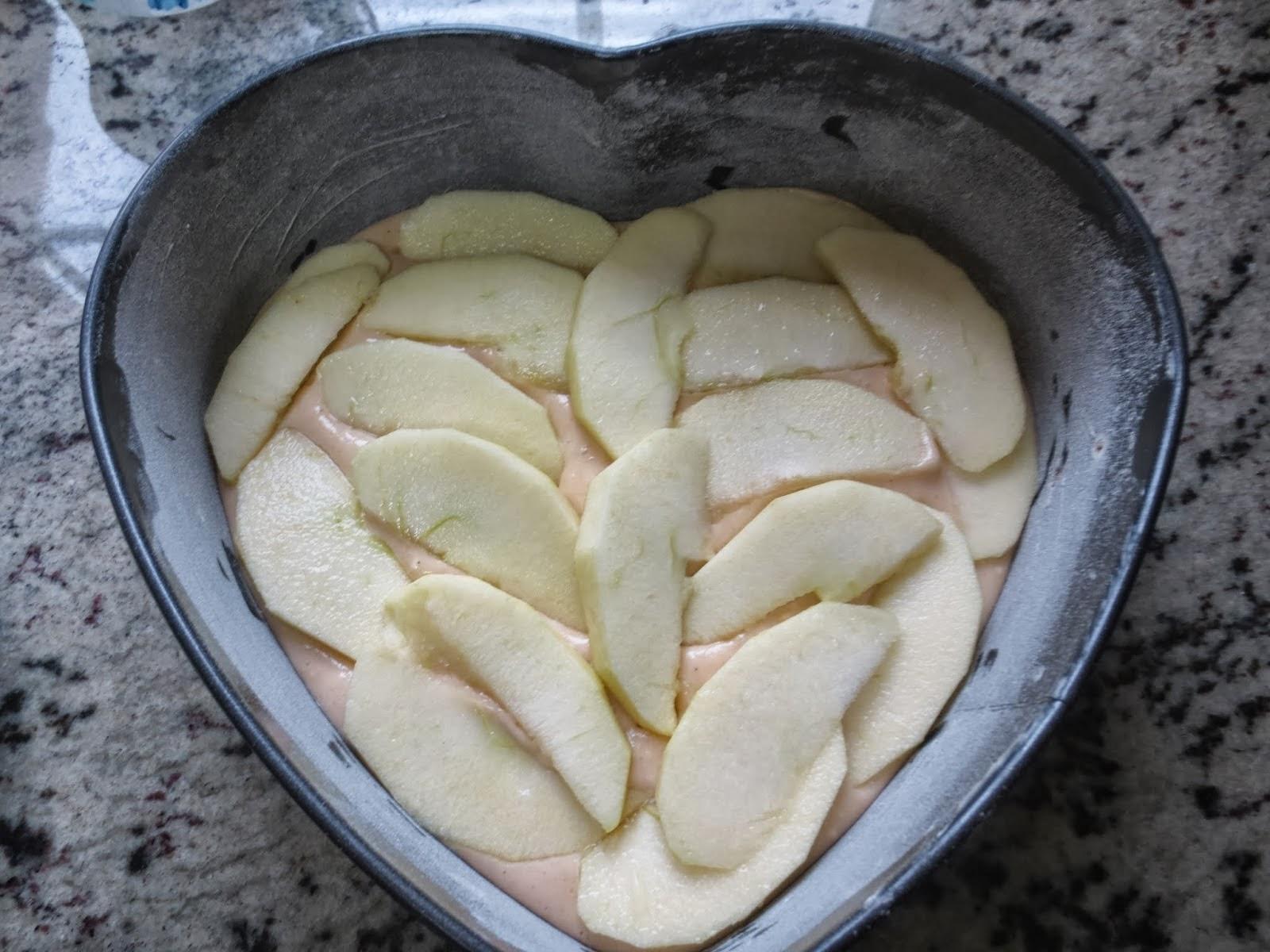 Bizcocho de manzana Thermomix