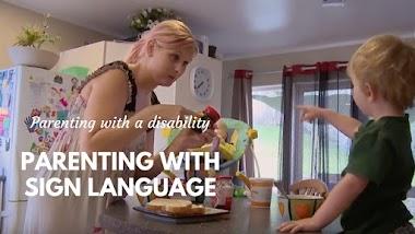 Cómo una mujer sorda se prepara para ser madre