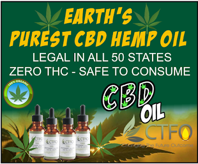 CTFO CBD Oil Products - 60 Day Money Back Guarantee