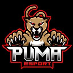 logo puma putih