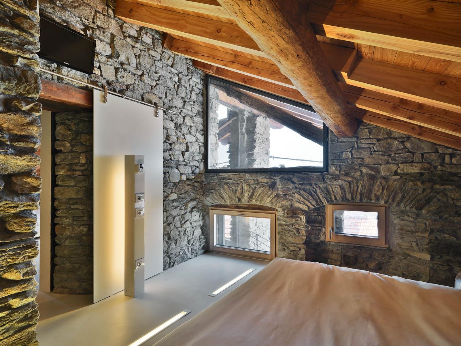 Neo arquitecturaymas espectaculares interiores en madera for Case e interni
