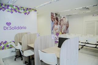 Consultas gratuitas na clínica Dr. Solidário em promoção de inauguração