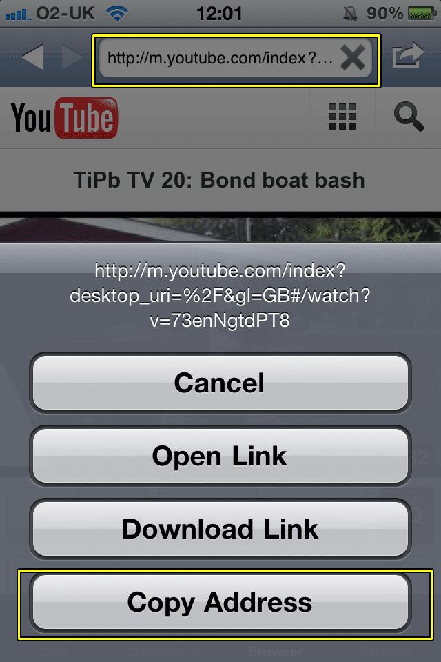 برنامج تحميل من اليوتيوب للآيفون مجاني وسريع