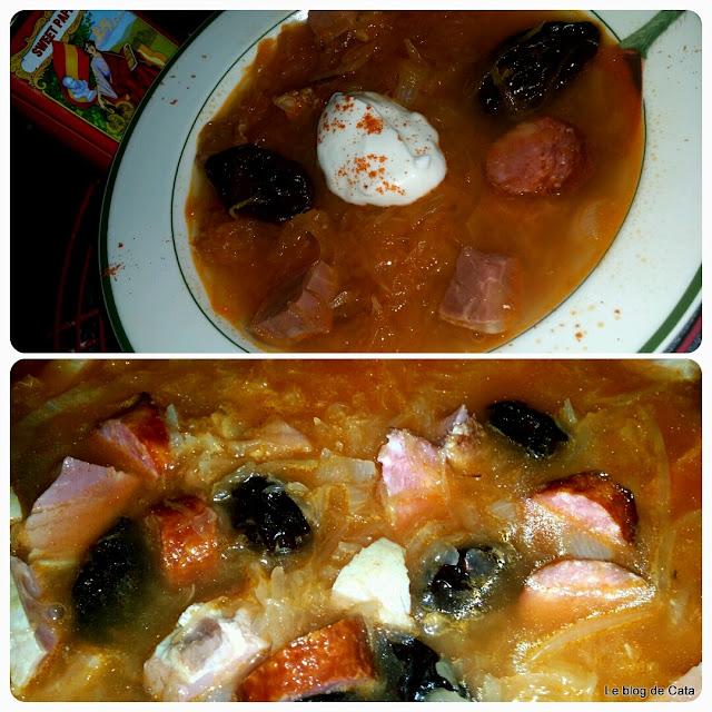 Kapustnica: soupe slovaque à la choucroute