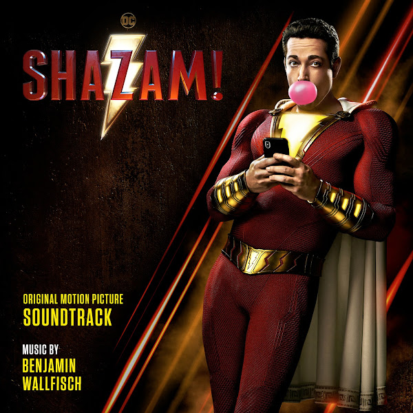 Benjamin Wallfisch - Shazam! (Original Motion Picture Soundtrack) Cover