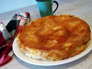 Kako napraviti gibanicu, sirnicu, burek / How to make a cheese pie