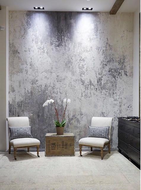 cat dinding motif sederhana