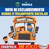 Prefeitura de Eunápolis emite nota de esclarecimento sobre o Transporte Escolar