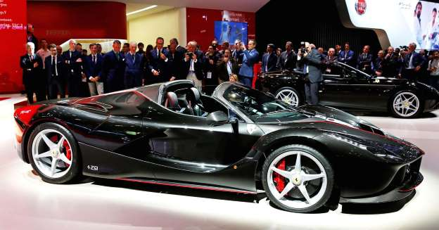 Ferrari's new $2.2 million super car is already sold out