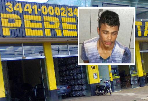 Gerente que reagiu a assalto na Latarias Pereira em Cacoal segue internado com tiro no pescoço e na cabeça de raspão