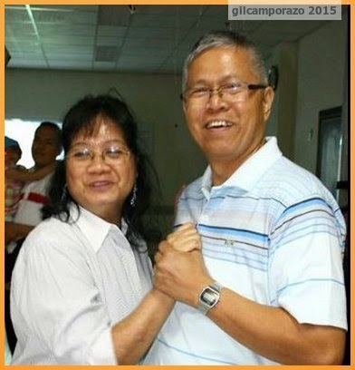 Bro. Tolentino and his wife
